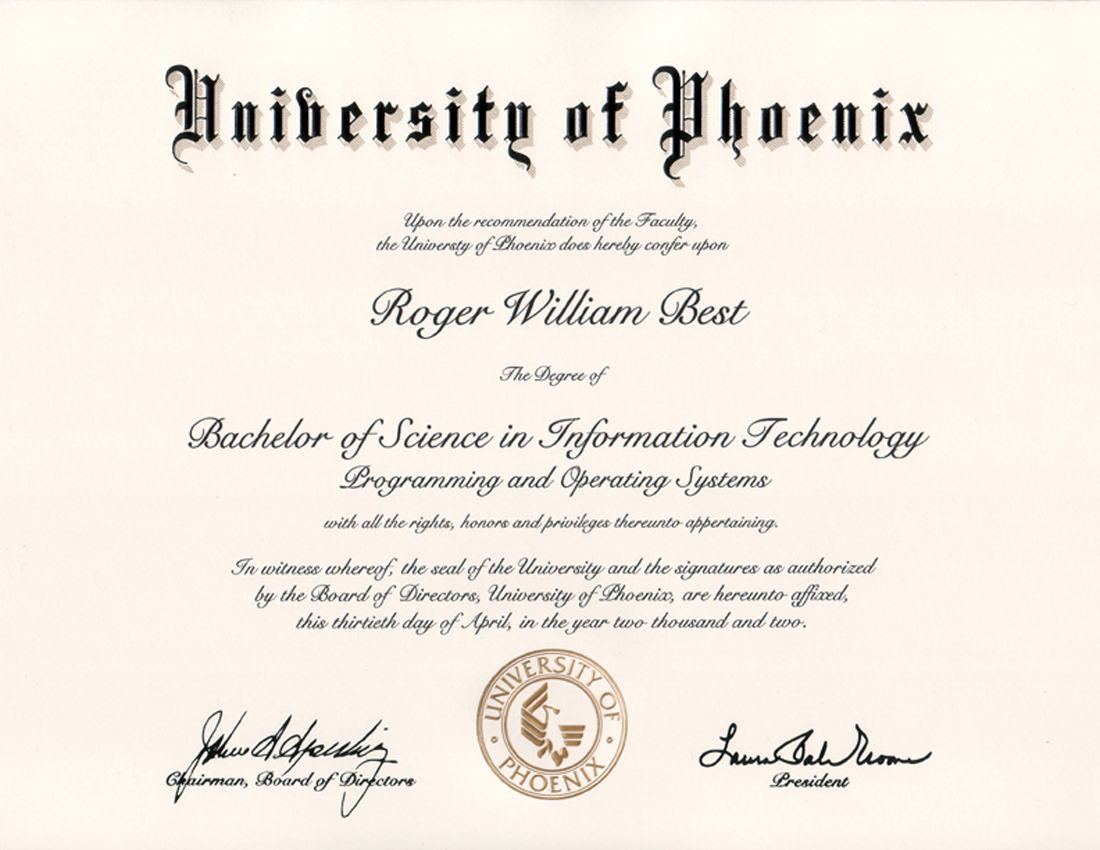 a discussion of the features of the bsit program of the university of phoenix Develop a dynamic stochastic framework that captures features of the underlying target  phoenix az architect engineer  work requirements document to.
